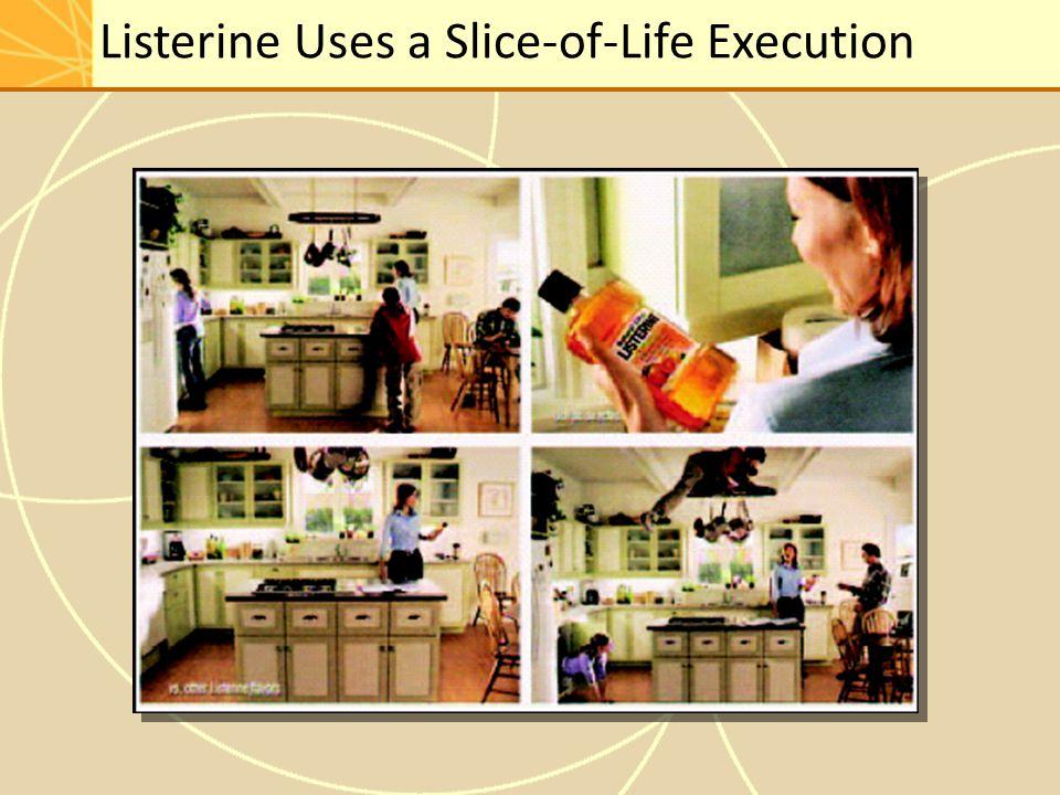 Listerine Uses a Slice-of-Life Execution