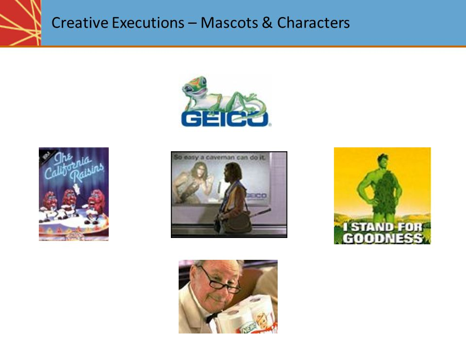Creative Executions – Mascots & Characters