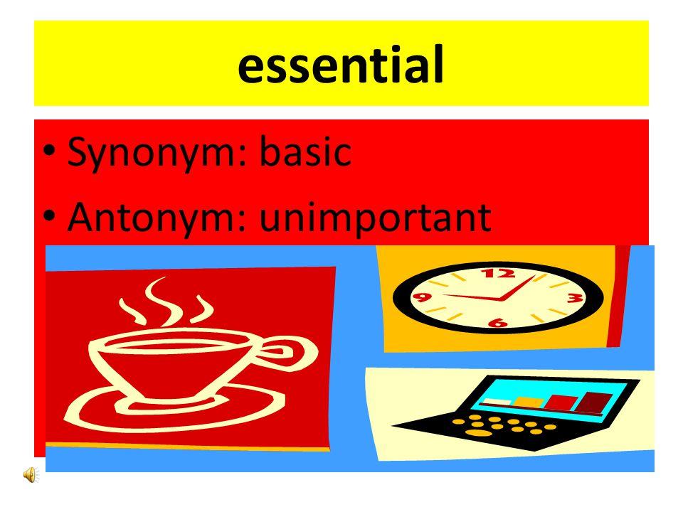 Hardship Synonym :ordeal Antonym: ease
