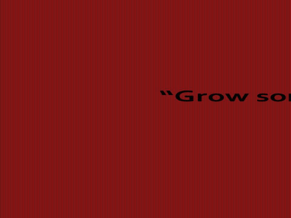 Grow some balls!