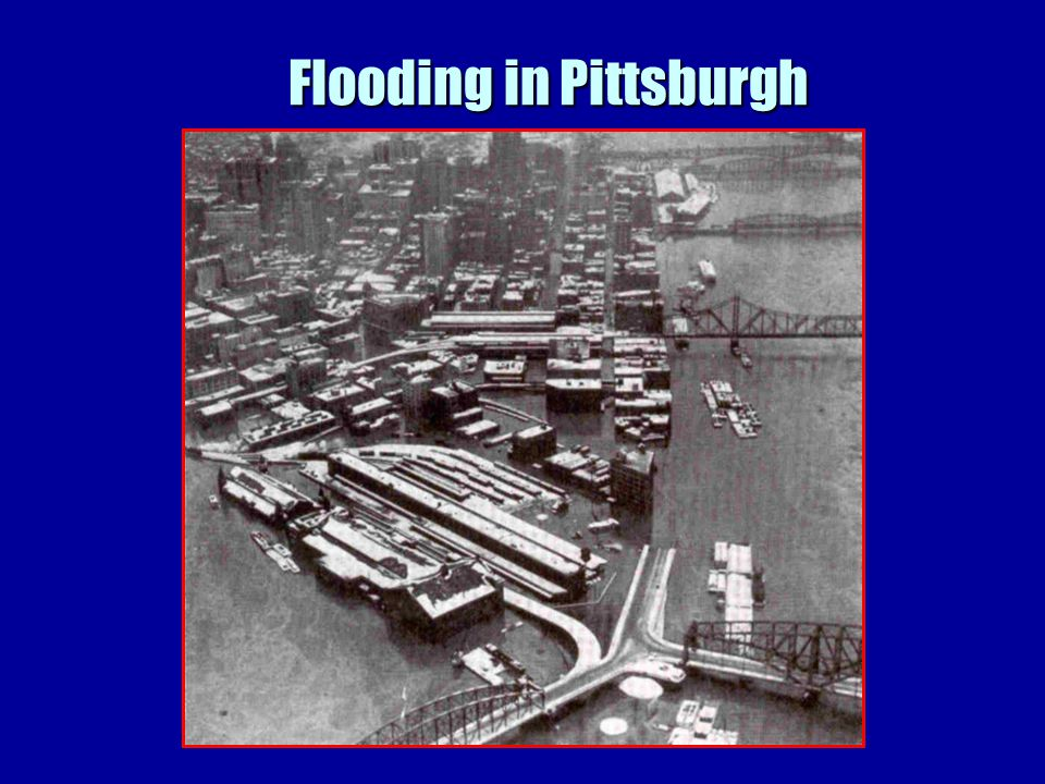 Flooding in Pittsburgh