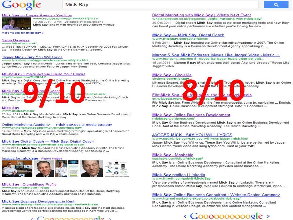@micksay mick@micksay.com 9/10 8/10