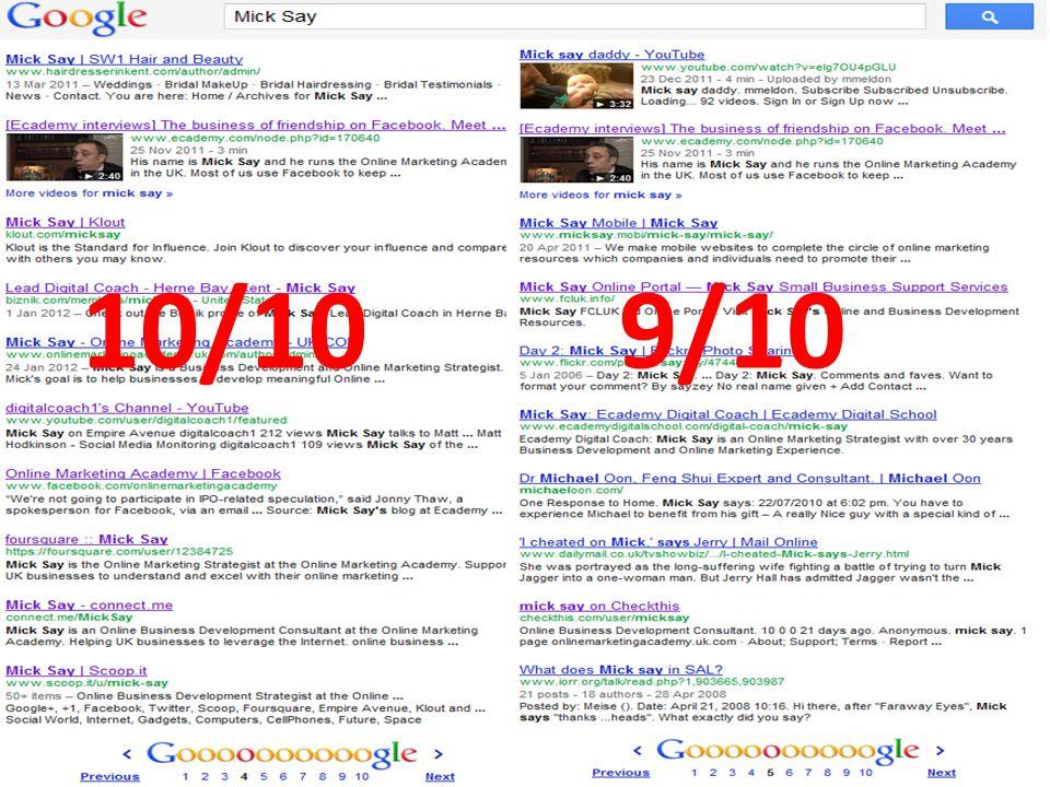 @micksay mick@micksay.com 10/109/10
