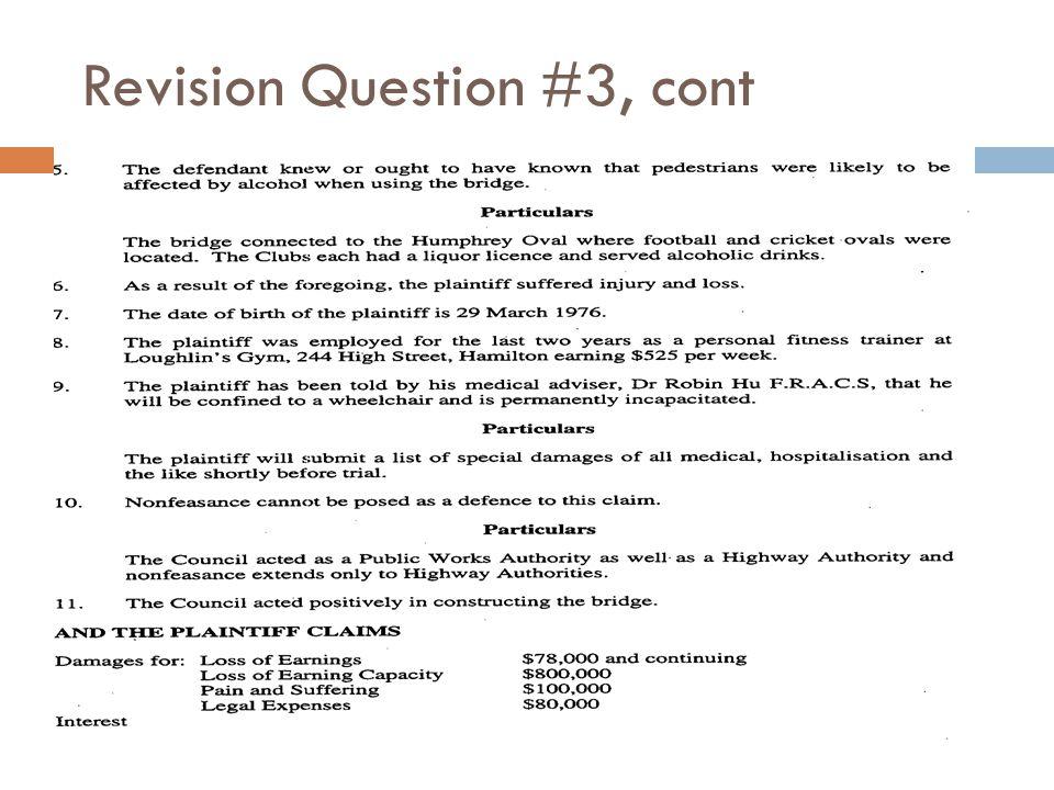 Revision Question #3, cont
