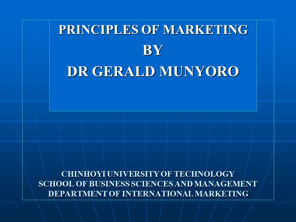 Marketing's role in non profit organisations The marketing concept is as important for nonprofit organizations as it is for business firms.