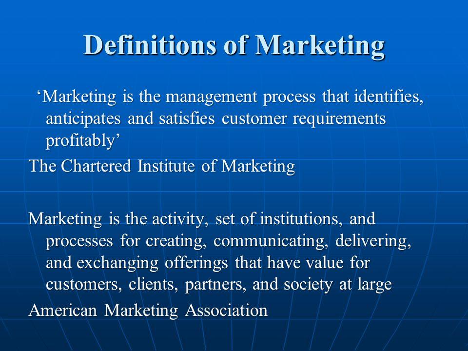 Marketing Environment a.Demographic Environment a.