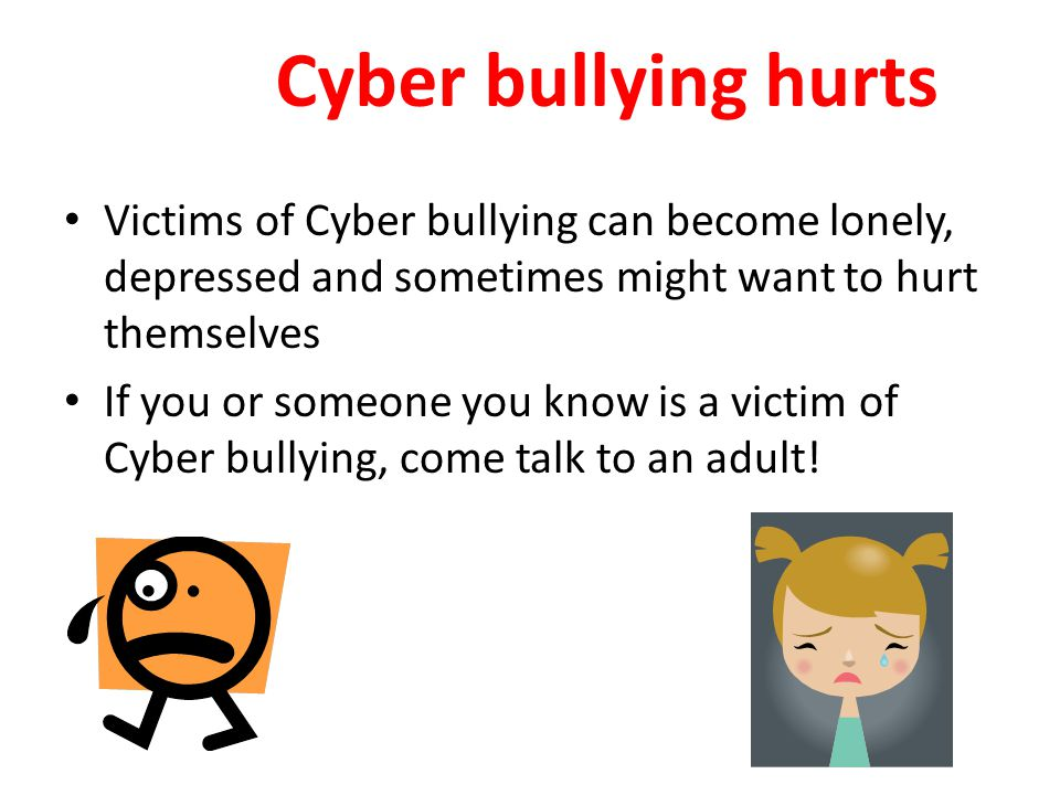Why do some people think Cyber bullying is O.K..