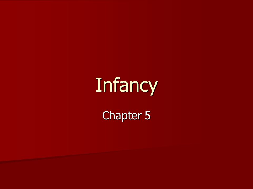 Infancy Chapter 5