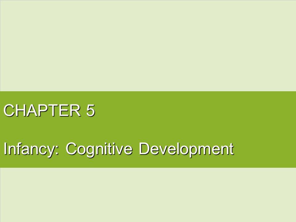 CHAPTER 5 Infancy: Cognitive Development