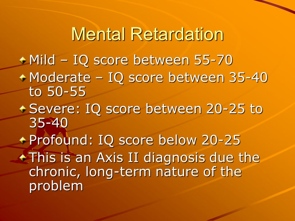 Learning Disorders Distinguished by below average cognitive or academic functioning when compared to a person's intellectual capacity A discrepancy of two standard deviations is necessary to meet this classification.