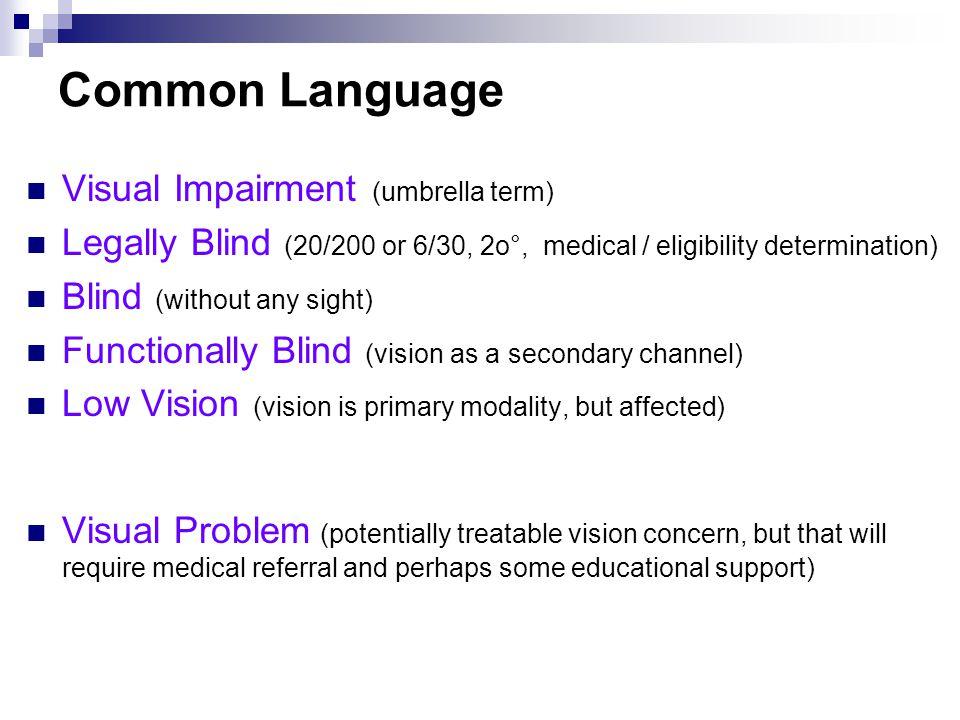 Vision and Nonverbal Communication Vision drives early nonverbal communication.