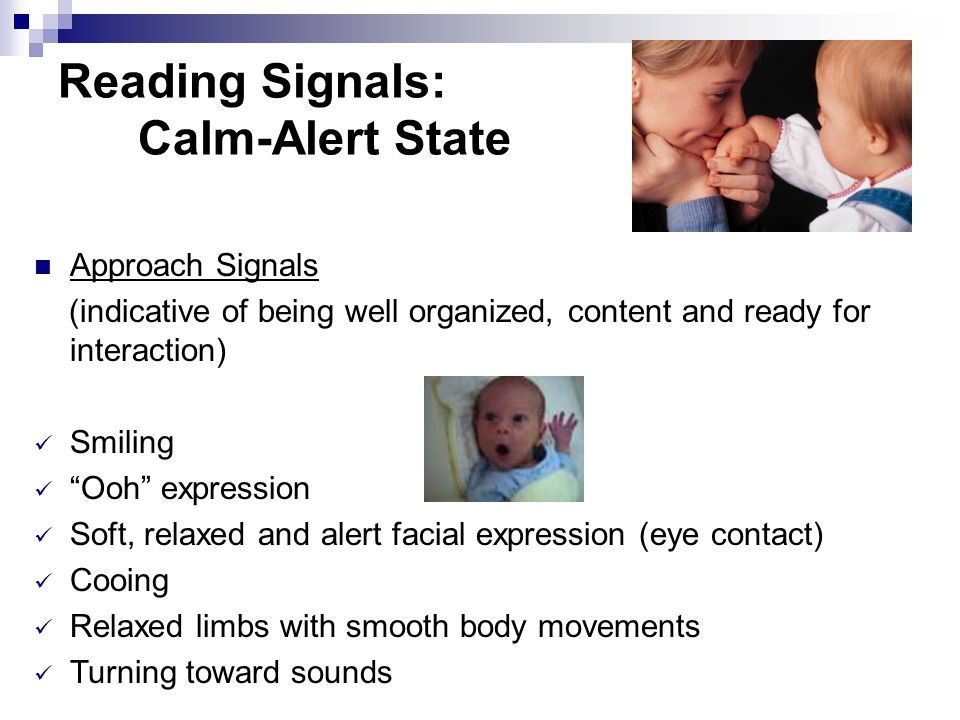 Learning to Read Signals The body communicates - understimulation - overstimulation - homeostases: The ability or tendency of an organism or cell to m