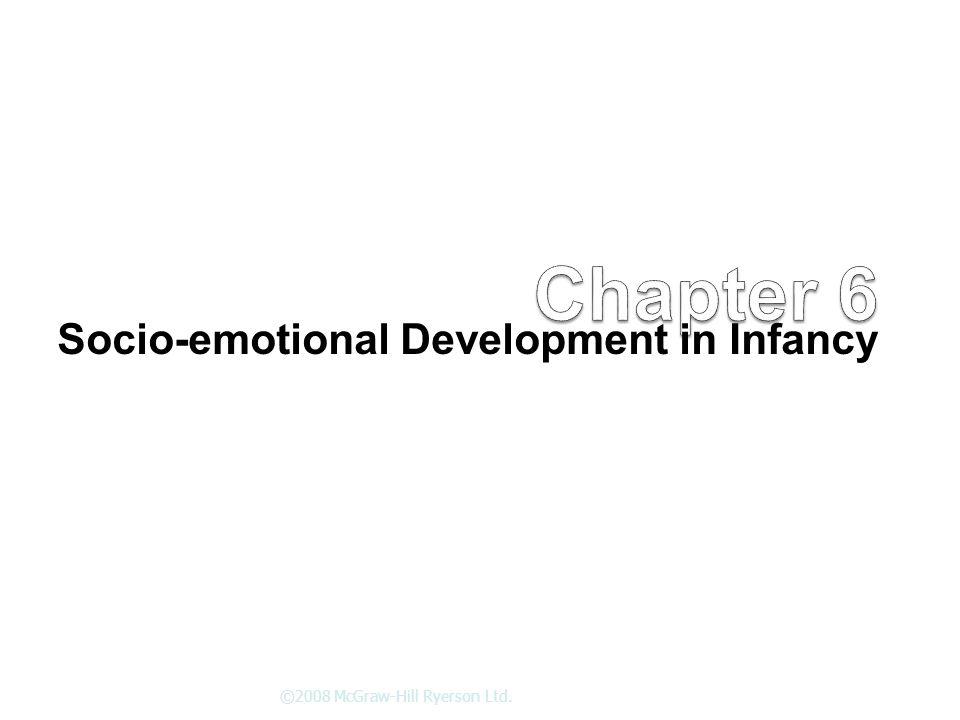 Socio-emotional Development in Infancy ©2008 McGraw-Hill Ryerson Ltd.