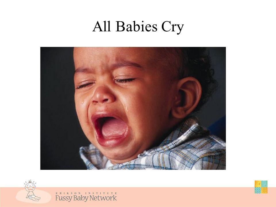 Risks to Behavior & Development Severe colic/persistent excessive crying in infancy past 5 months has been linked to the following child outcomes: Motor, language, and cognitive delays Behavioral problems ( temper tantrums ) Negative reactivity ( fussiness ) Sleep disorders Feeding problems Hyperactivity DeGangi et al., 2000; DeSantis et al, 2005; Kries, Kalies, & Papousek, 2006; Papousek & von Hofacker, 1998; Rautava et al., 1995; Savino et al., 1995; Wake et al., 2006; Wolke, Rizzo, & Woods, 2002