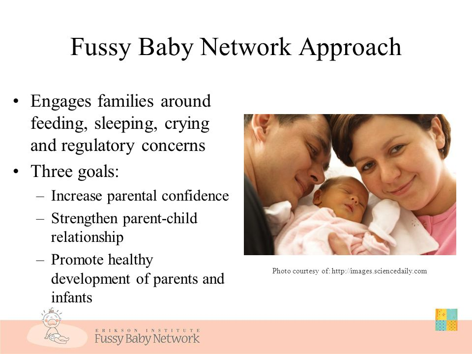 Help From a Dual Perspective 1. Help parents in the now moment with their urgent concern 2. With your eye on their future Parent's confidence Parent's