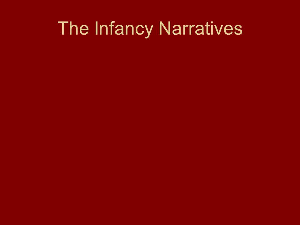 The Infancy Narratives