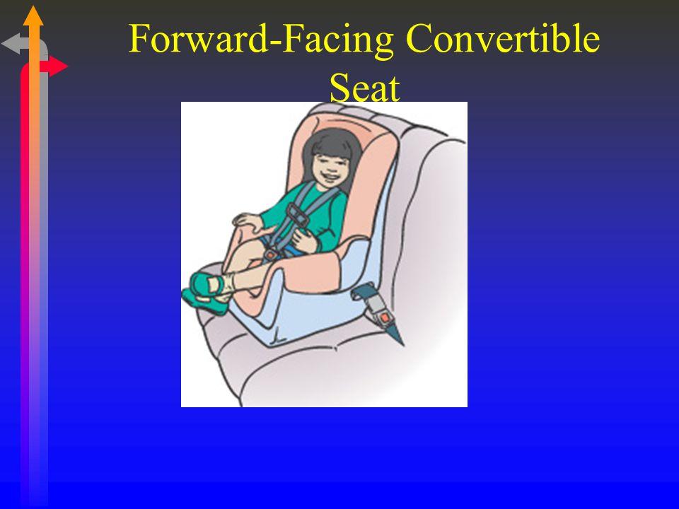 Forward-Facing Convertible Seat