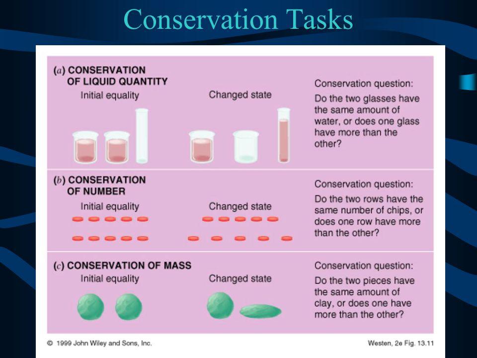 Conservation Tasks