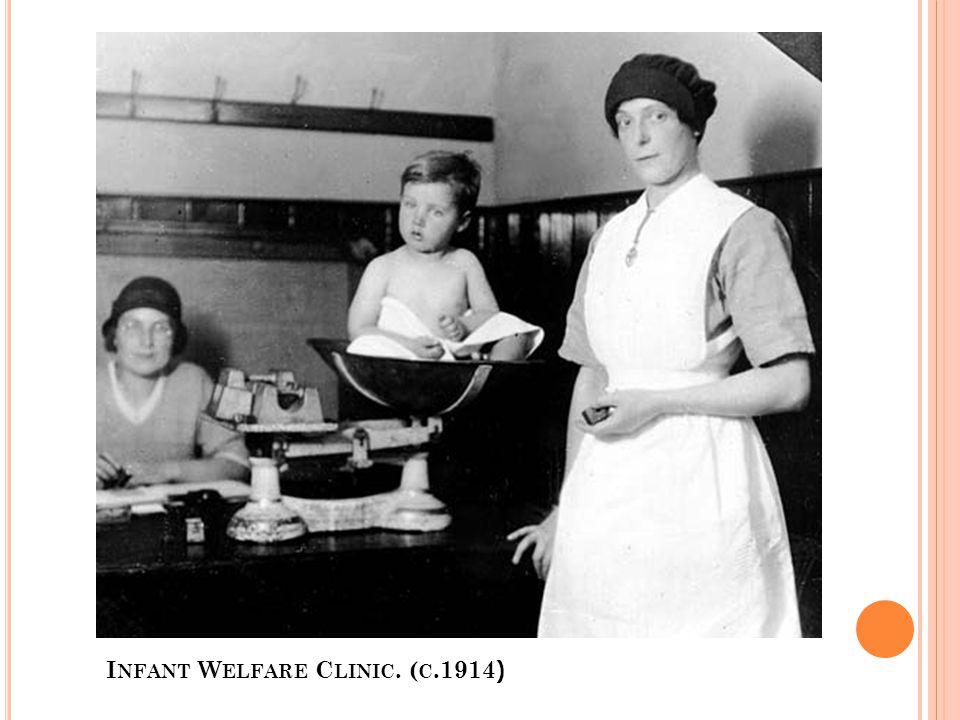 I NFANT W ELFARE C LINIC. ( C.1914 )
