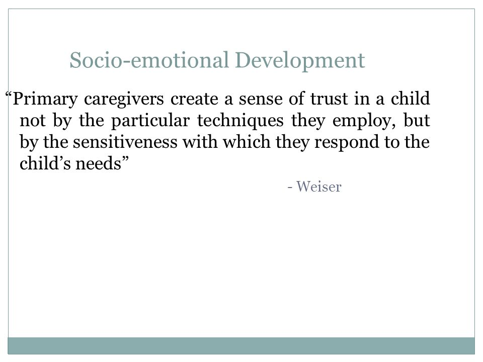 Attachment Theory  Attachment is the cornerstone of infant development: about relationships, how they are formed, what happens during the first intimate relationship with the nurturing adult, and what consequences are for later development.