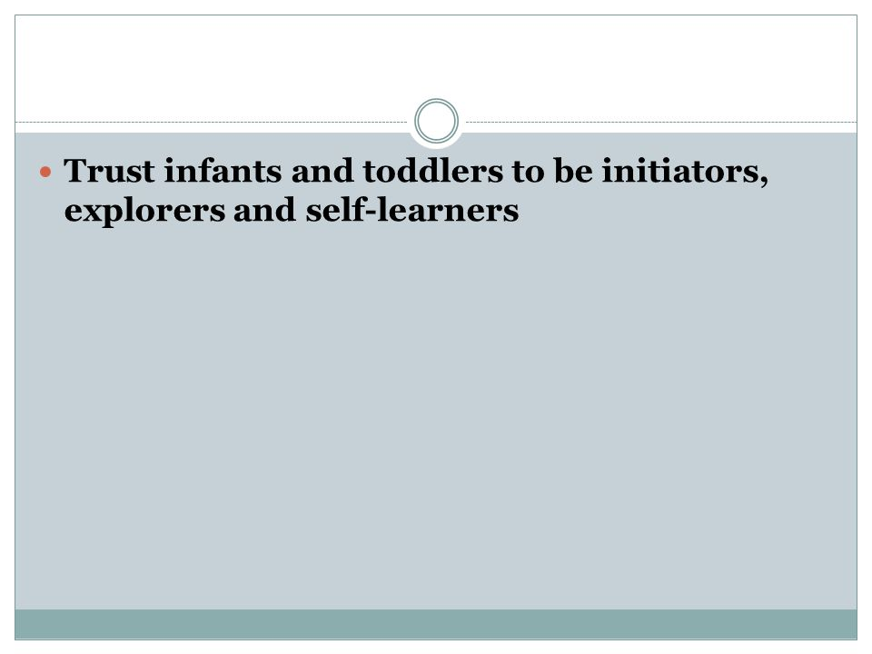 If we engage with infants and toddlers during caregiving tasks, they learn about their bodies and how to care for them.