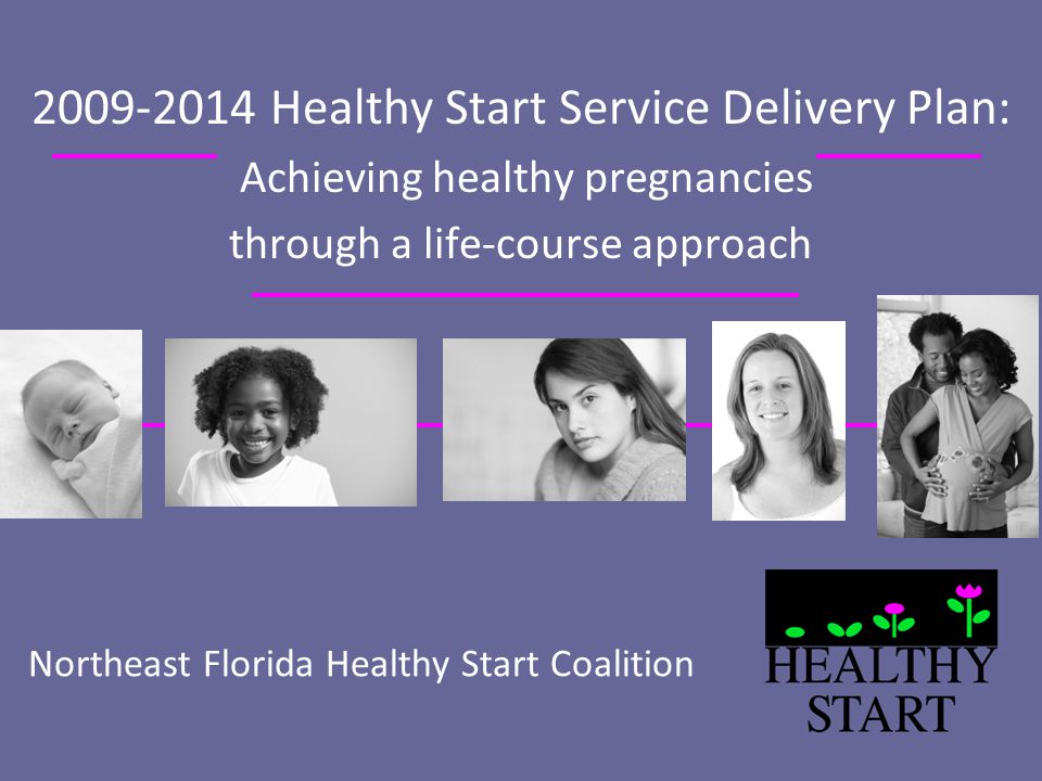Northeast Florida Healthy Start Coalition 2009-2014 Healthy Start Service Delivery Plan: Achieving healthy pregnancies through a life-course approach