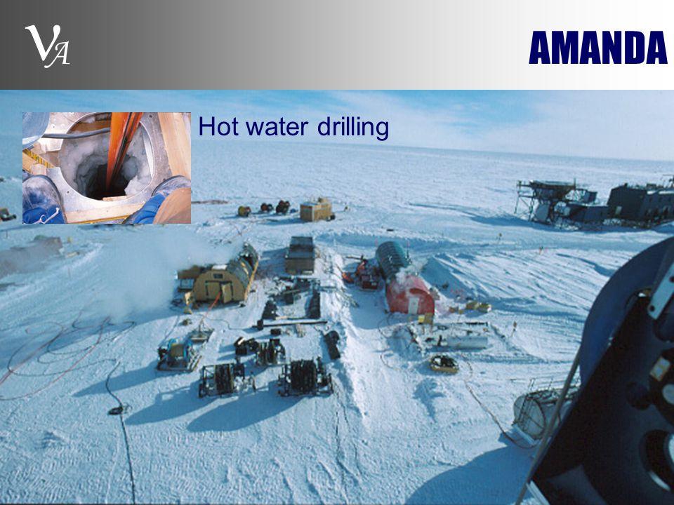 A AMANDA Hot water drilling