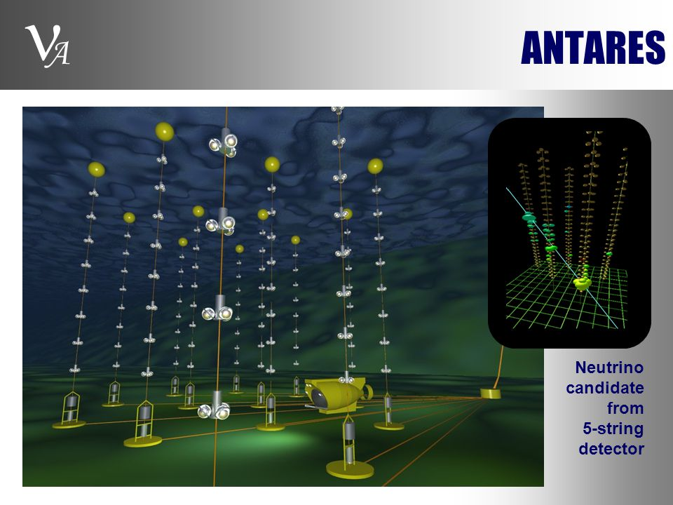 A ANTARES Neutrino candidate from 5-string detector