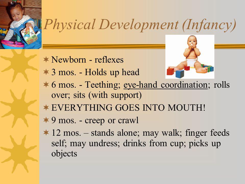 Developmental Milestones Infancy: Birth to 1 Year