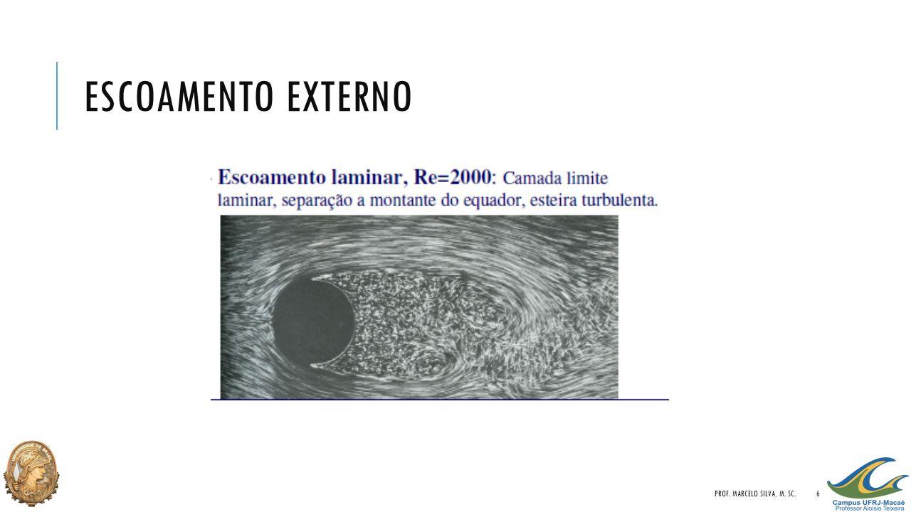 ESCOAMENTO EXTERNO PROF. MARCELO SILVA, M. SC.6
