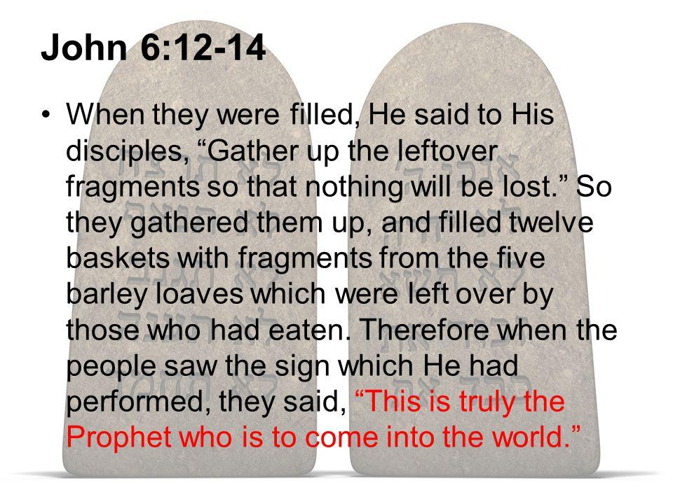 Jesus, A Prophet Like Moses Deut. 18:15-22 1 Cor. 10:1-14