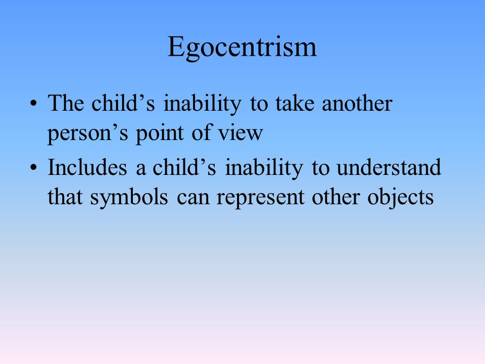 Concrete Operational Stage Piaget's third stage of cognitive development From about age 7 to 11 Child learns to think logically and understands conservation