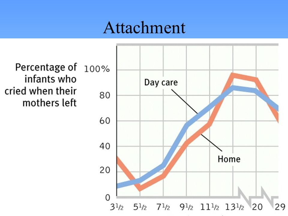 Effects of Attachment Secure attachment predicts social competence.