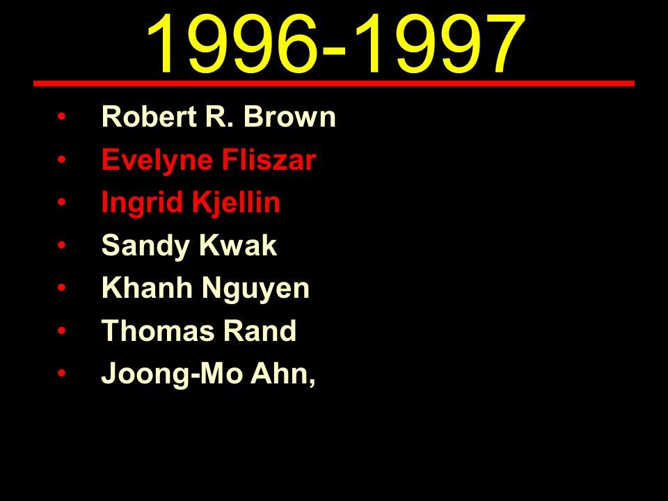 1996-1997 Robert R.