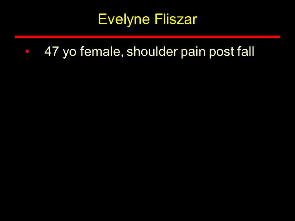 34 yo male, hip pain following a fall down stairs.