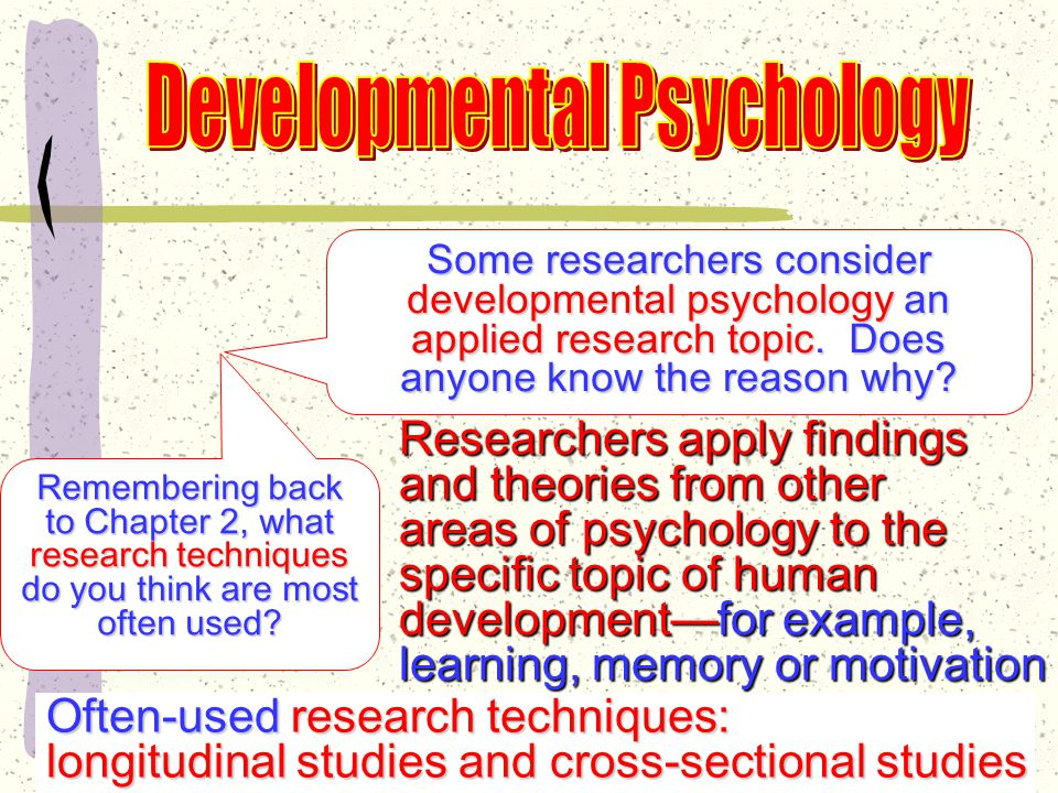 Far less research on women's mid-life development Many welcome more personal freedom Many go back to college, re-enter the workforce, or begin new careers.