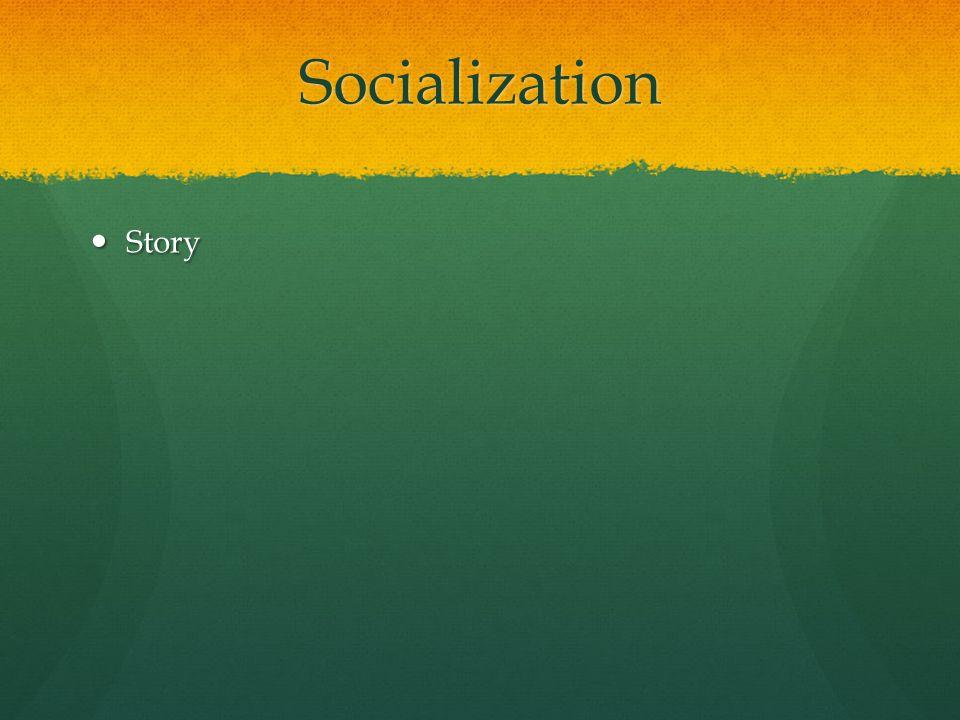 Socialization Story Story