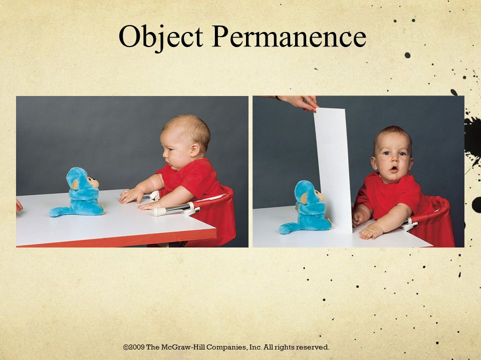 Object Permanence ©2009 The McGraw-Hill Companies, Inc. All rights reserved.