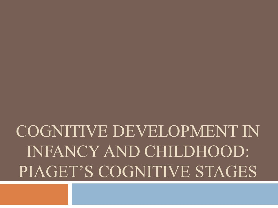 Jean Piaget (pee-ah-ZHAY)  Introduced a stage theory of cognitive development that lead to a better understanding of children's thought processes  Studied using his daughter