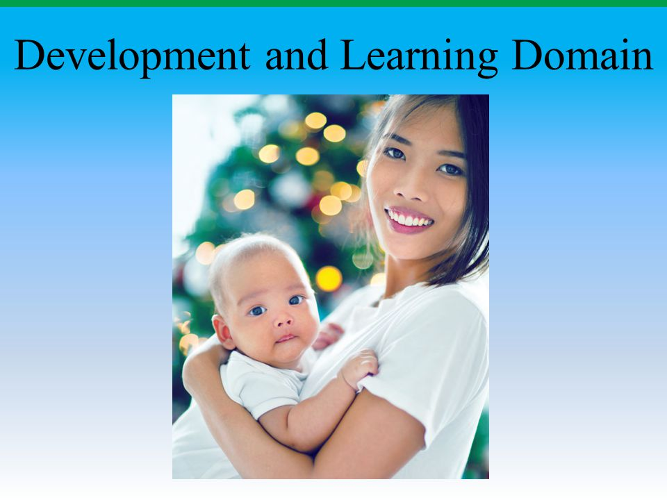 Development and Learning Domain