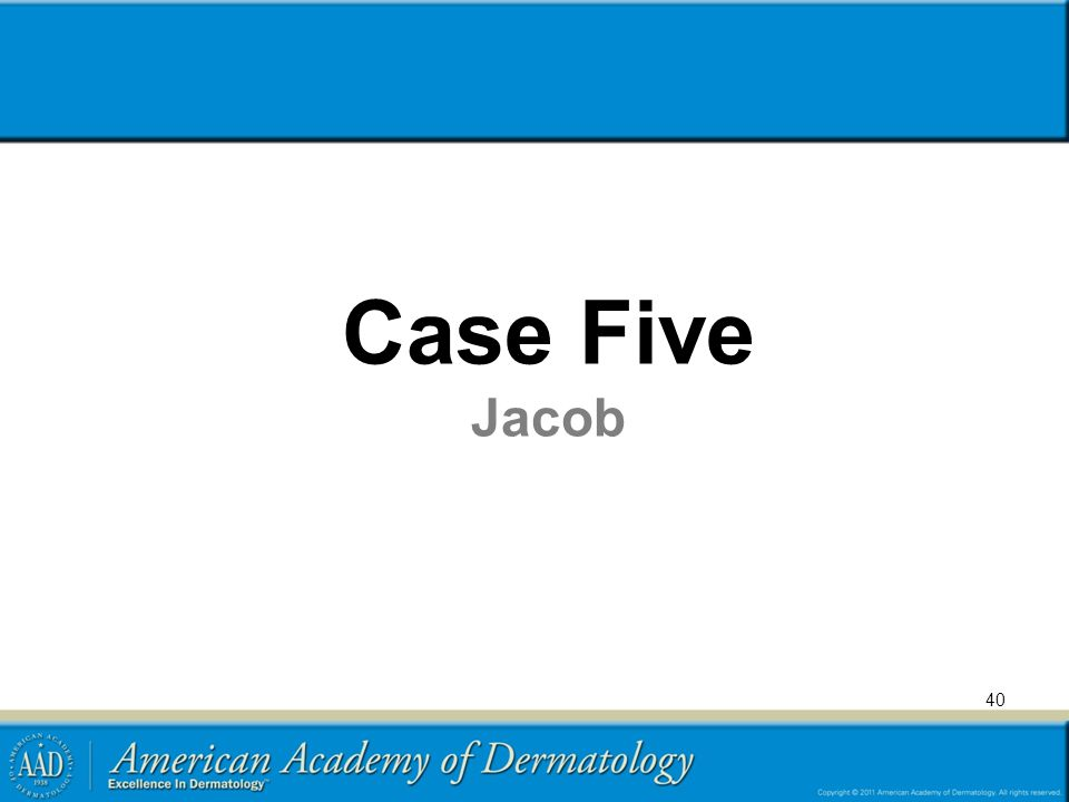 Case Five Jacob 40