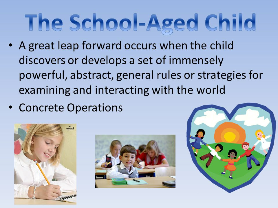 A great leap forward occurs when the child discovers or develops a set of immensely powerful, abstract, general rules or strategies for examining and