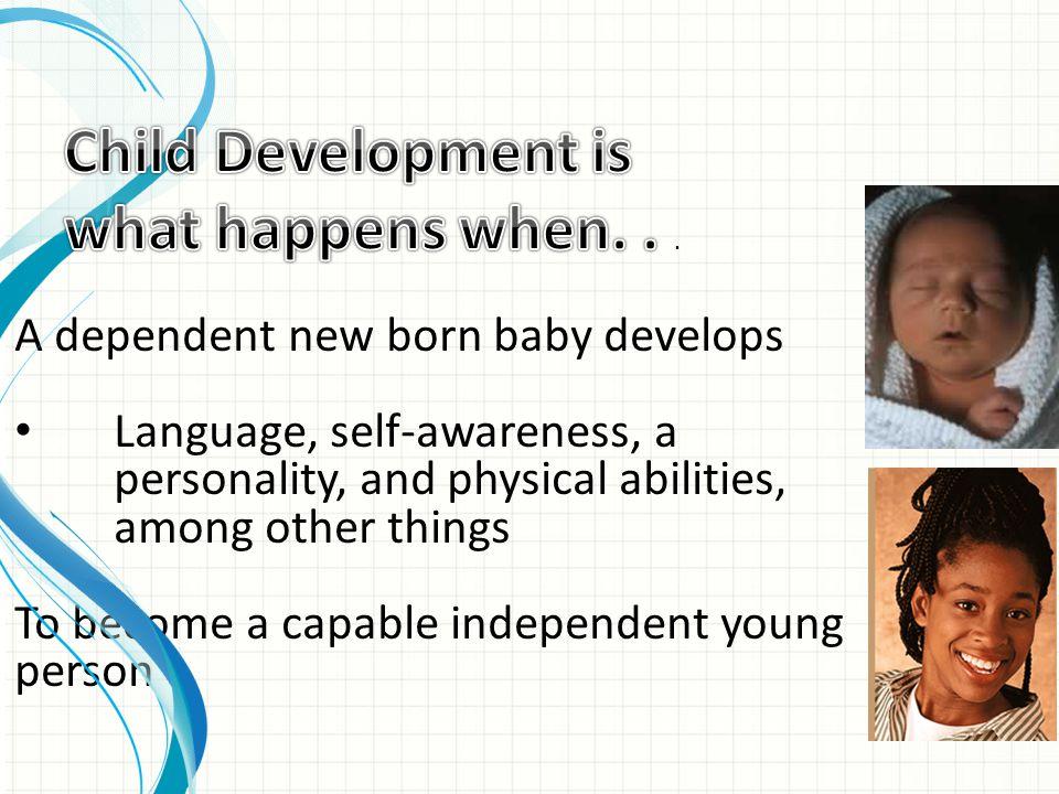 Certain aspects of development are predictable.