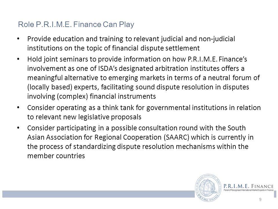 P.R.I.M.E.Finance Panel of Recognized International Market Experts in Finance 2015 P.R.I.M.E.