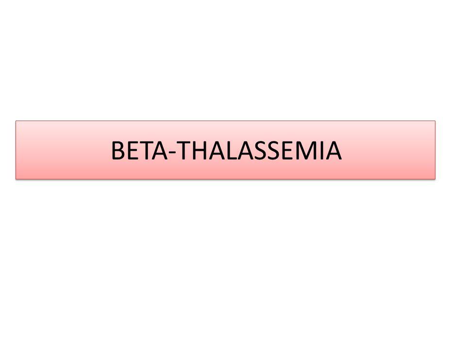 BETA-THALASSEMIA