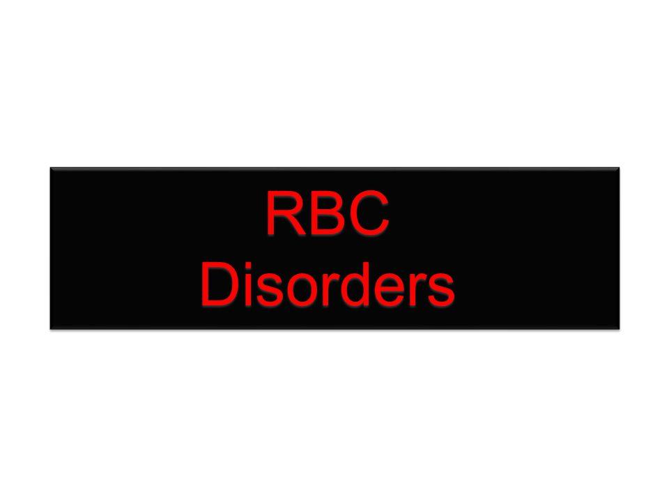 RBC Disorders
