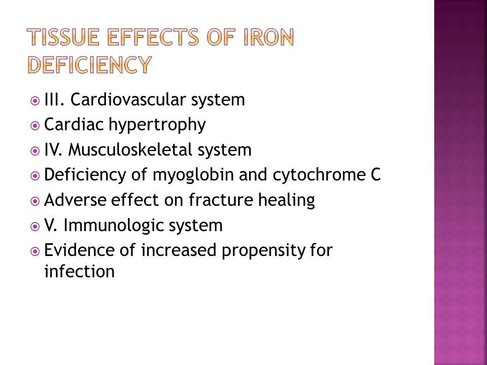  III. Cardiovascular system  Cardiac hypertrophy  IV.
