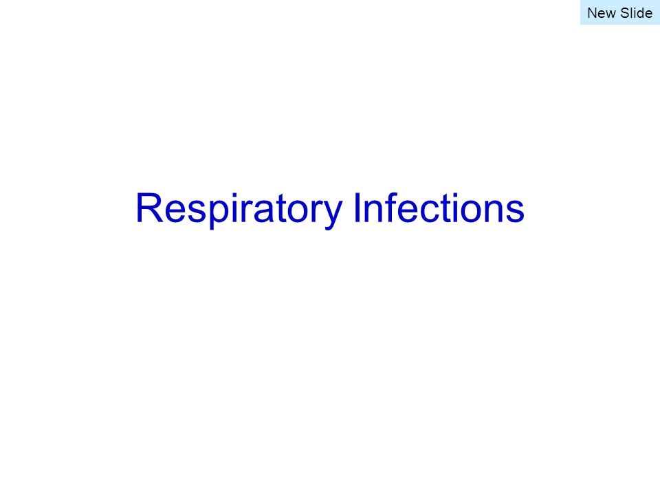 Respiratory Infections New Slide