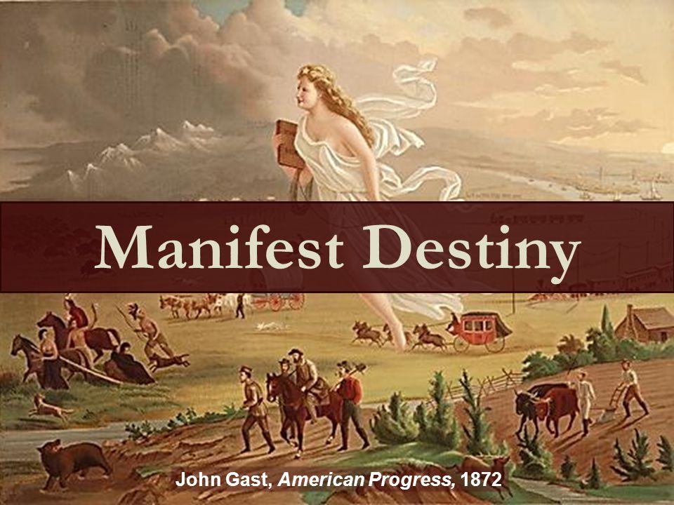 John Gast, American Progress, 1872 Manifest Destiny