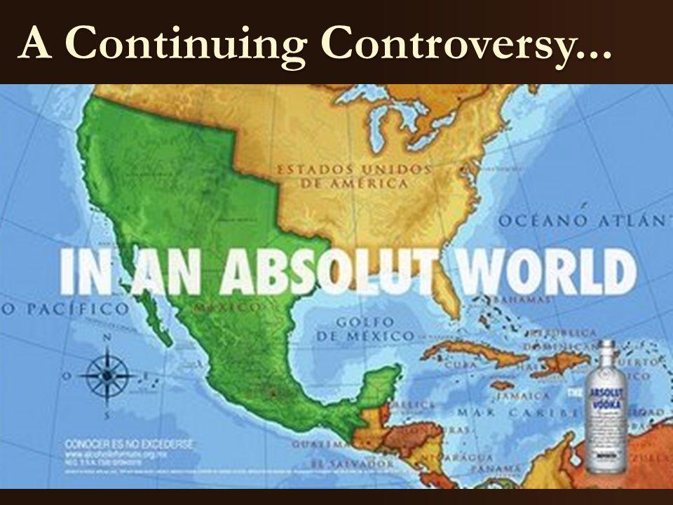 A Continuing Controversy...